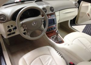 Mercedes cabriolet CLK