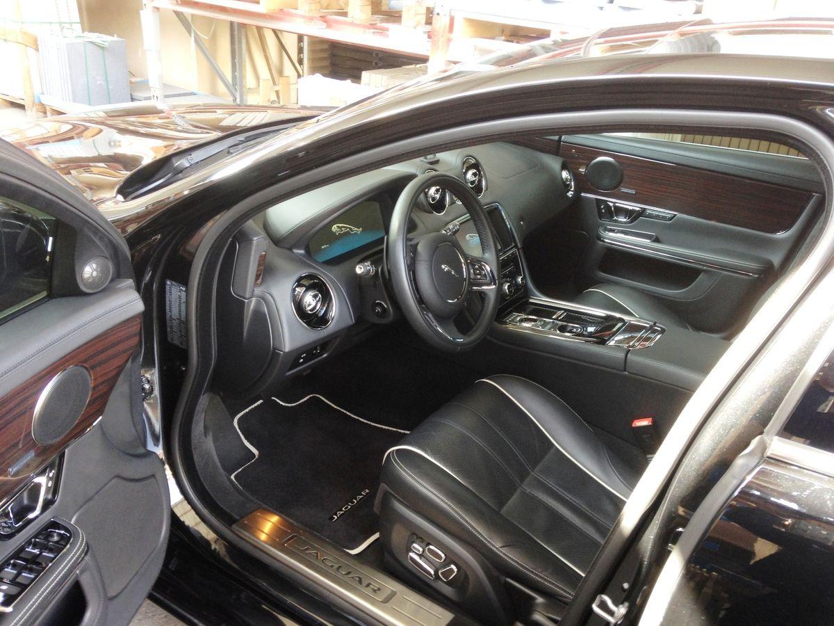 Jaguar XJ cuir