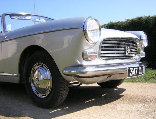Peugeot 404 cabriolet 1964
