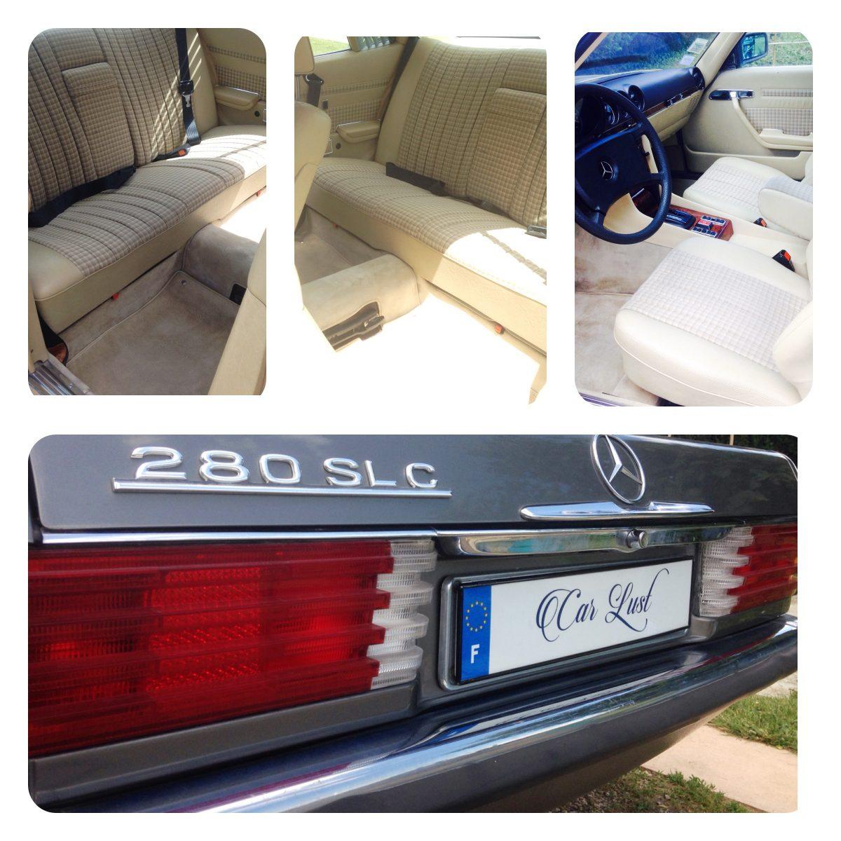 Mercedes-280 SLC