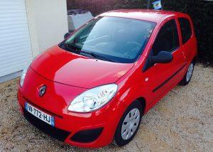 Renault Twingo II rouge essence
