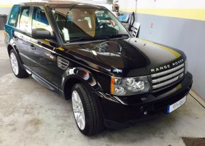 Lustrage Range Rover
