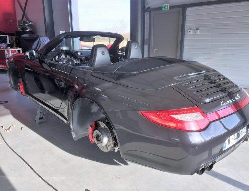 Porsche Carrera4S cabriolet
