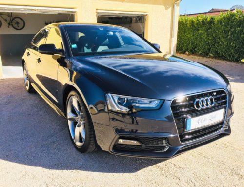 Audi A5 poli-miroir
