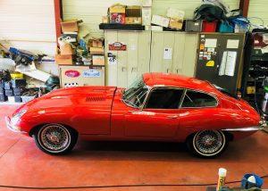 Jaguar type e 1963
