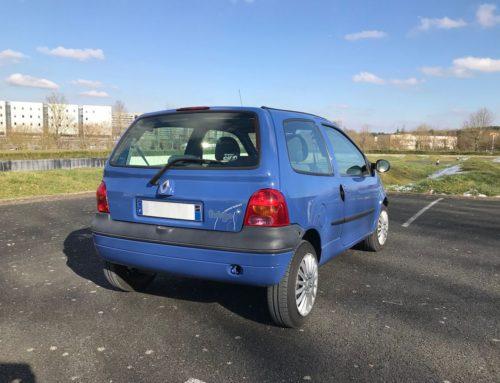Occasion Renault Twingo 1 bleue 2007 83000 km Vendue