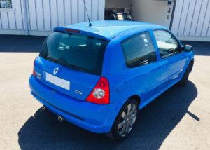 arriere-Clio-RS-182cv-2004-bleu-dynamo-a-vendre
