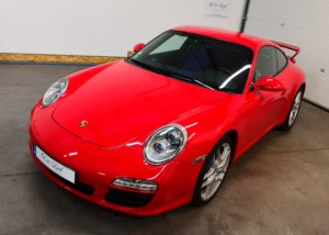 Porsche 997 Ph 1 Rouge Indien