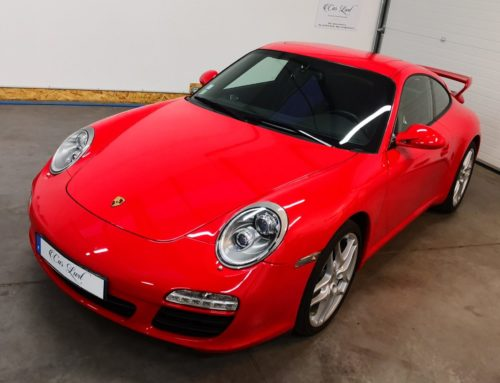 Porsche 997 Ph. 1 rouge indien