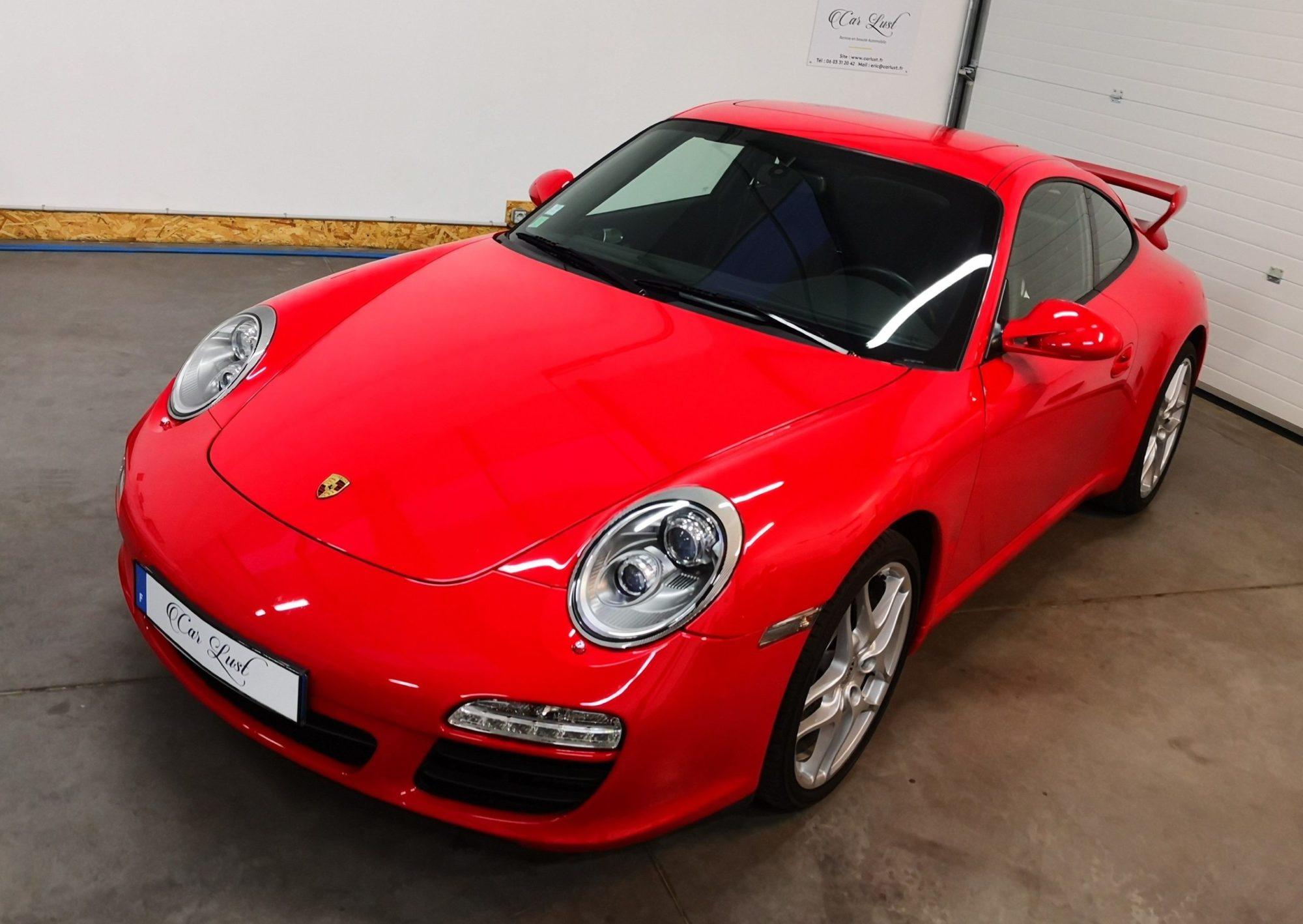 Porsche 997 Ph 1 Rouge Indien