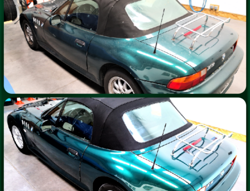 Rénovation BMW Z3 1998