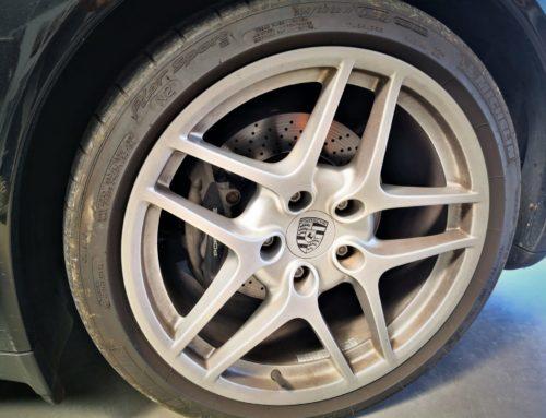 Jantes Porsche Carrera S