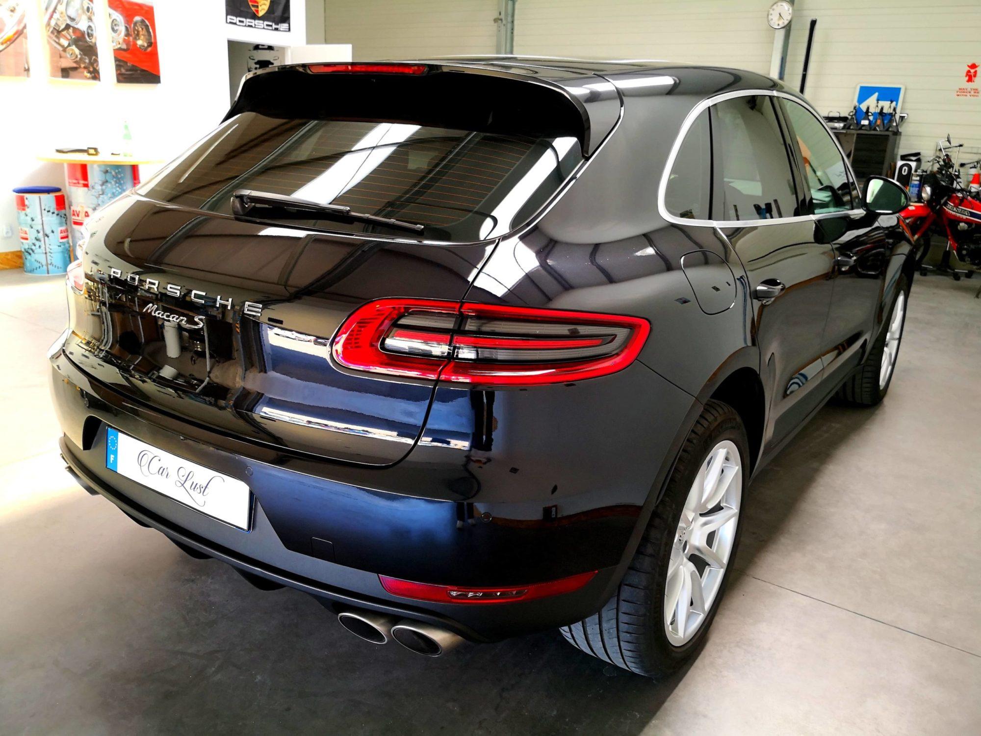 Porsche Macan S noir profond