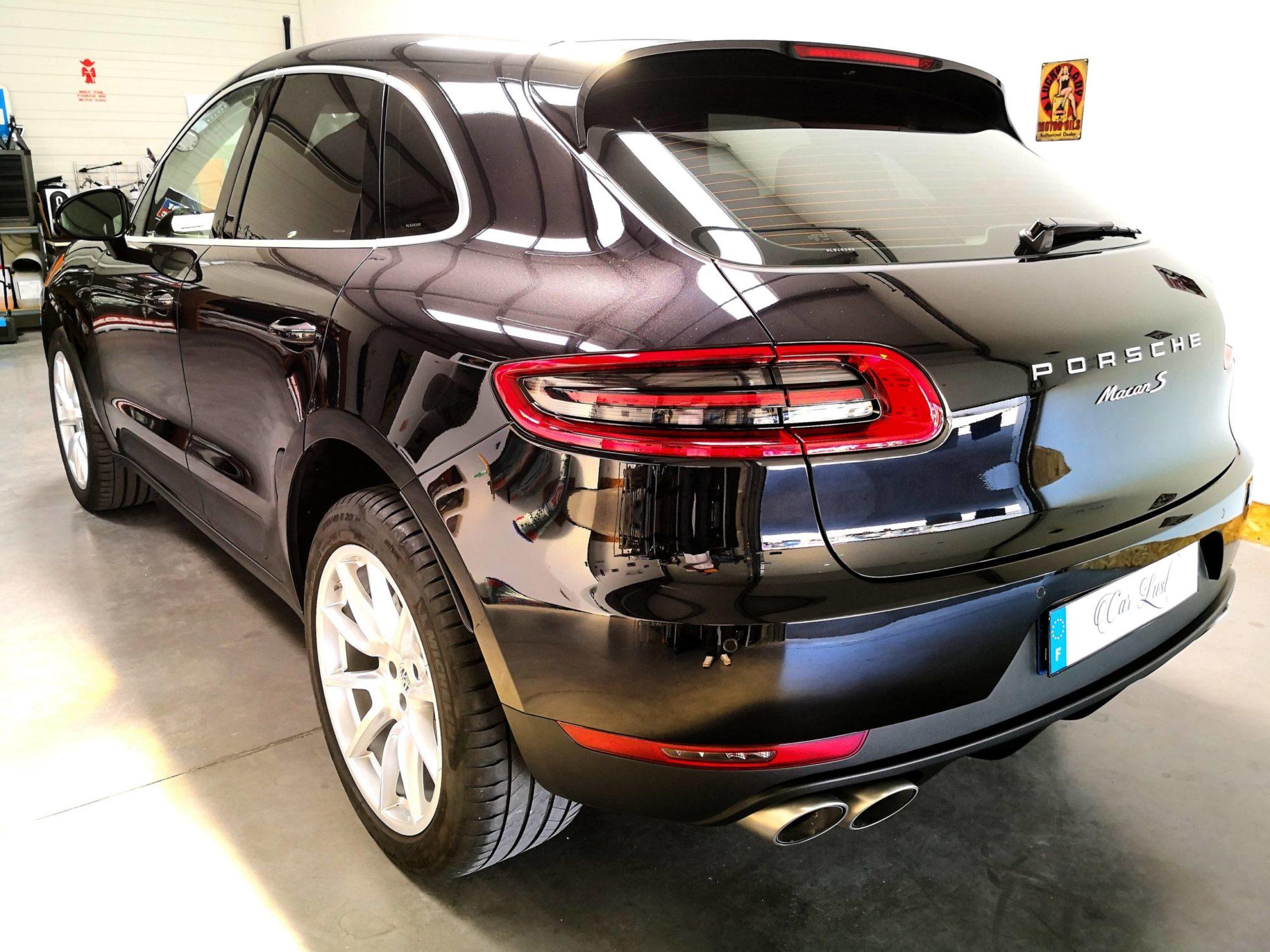Porsche Macan S noir