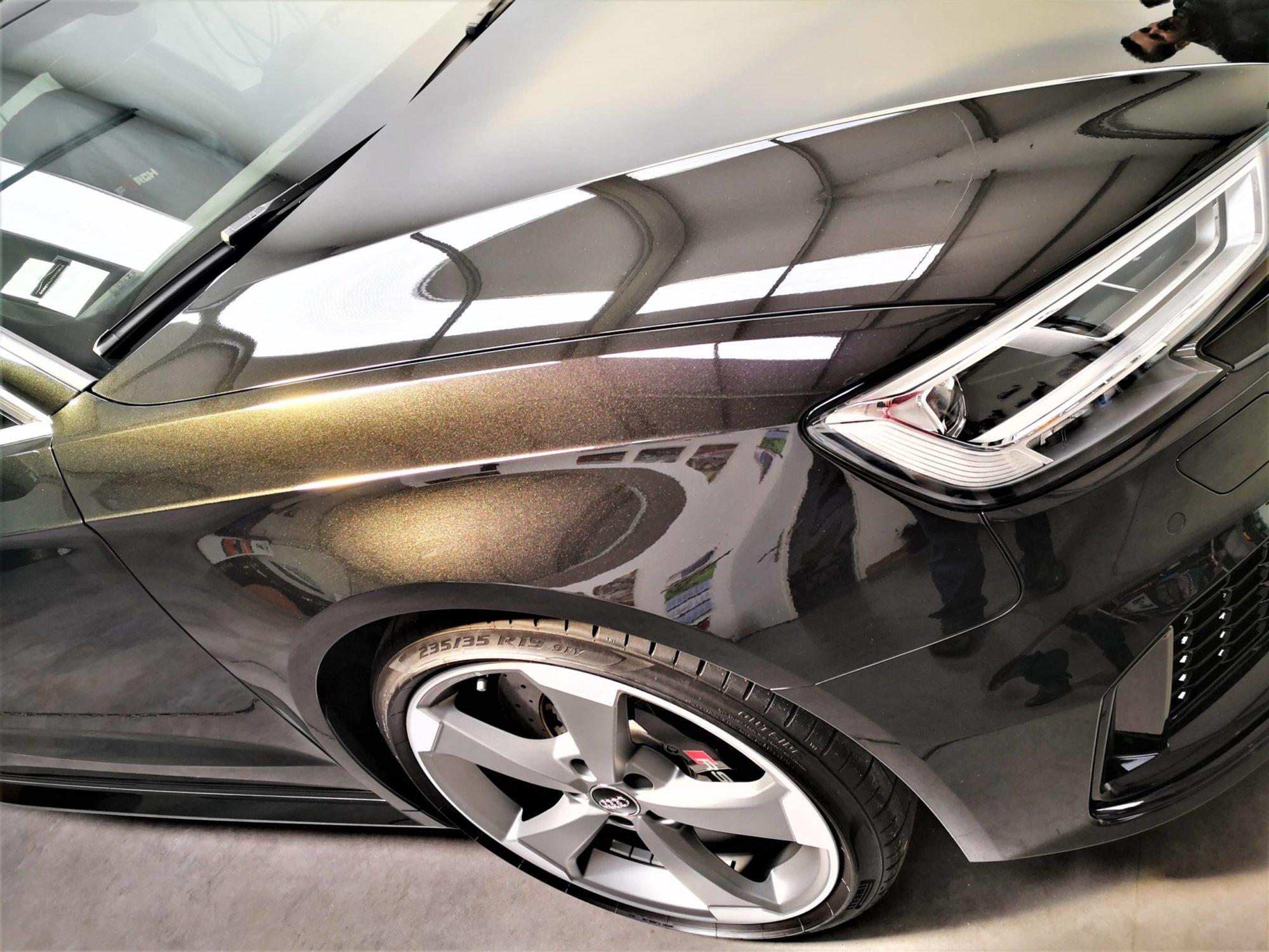 Audi RS3 Black panther Aile AV