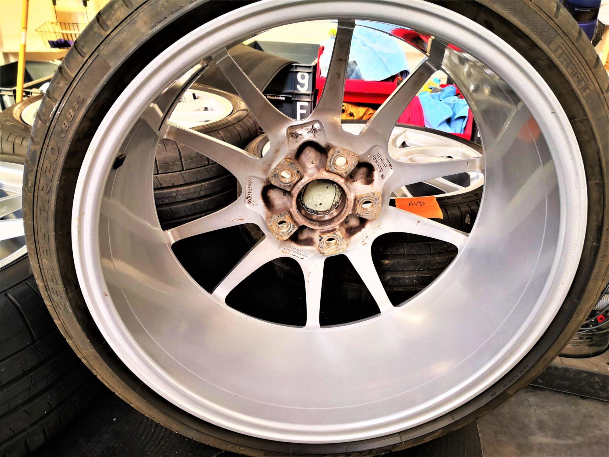 Jantes Porsche